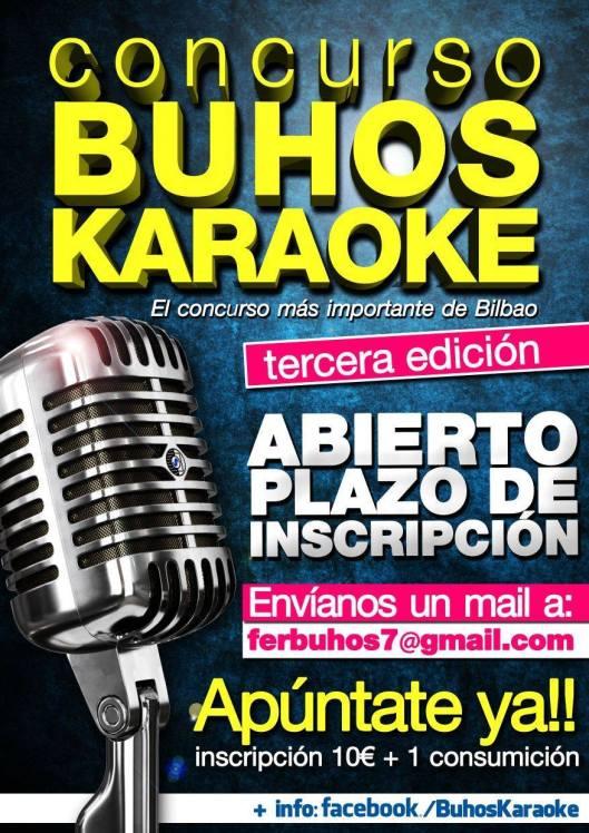 Concurso BUHOS Karaoke Pub